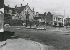 Callendar Riggs looking towards Silver Row (c1950's)